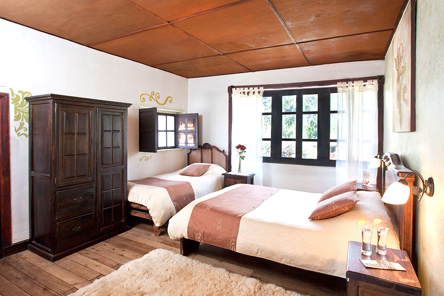 Habitacion Duqueza, Hosteria Papagayo, Cotopaxi, Ecuador